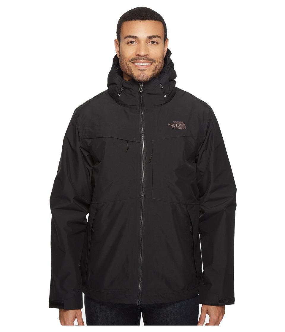 The North Face - Condor Triclimate Jacket (TNF Black/TNF Black/Rosin Green Glamo Print) Men's Coat