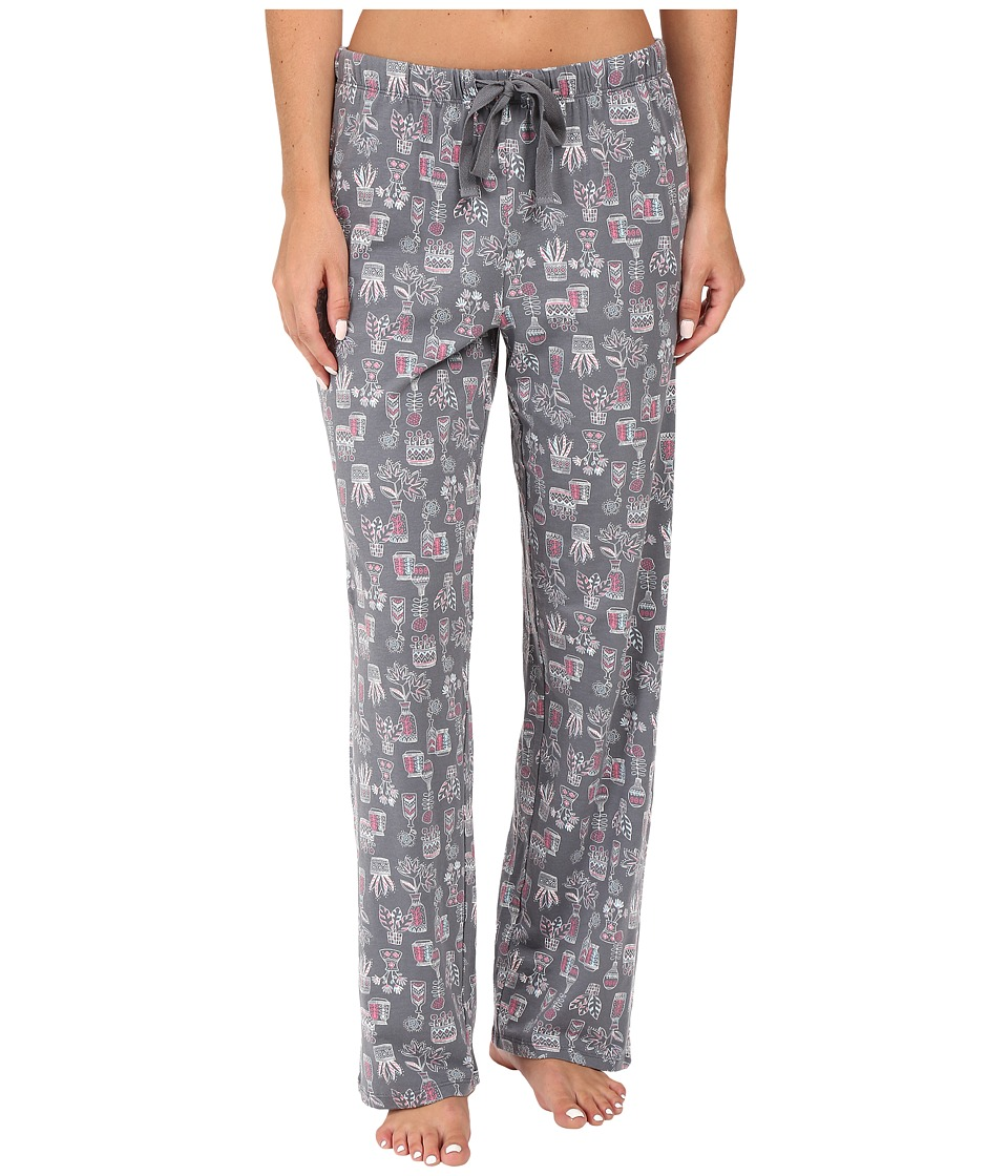 Jockey - Novelty Print Pants (Plants/Vases) Women's Pajama