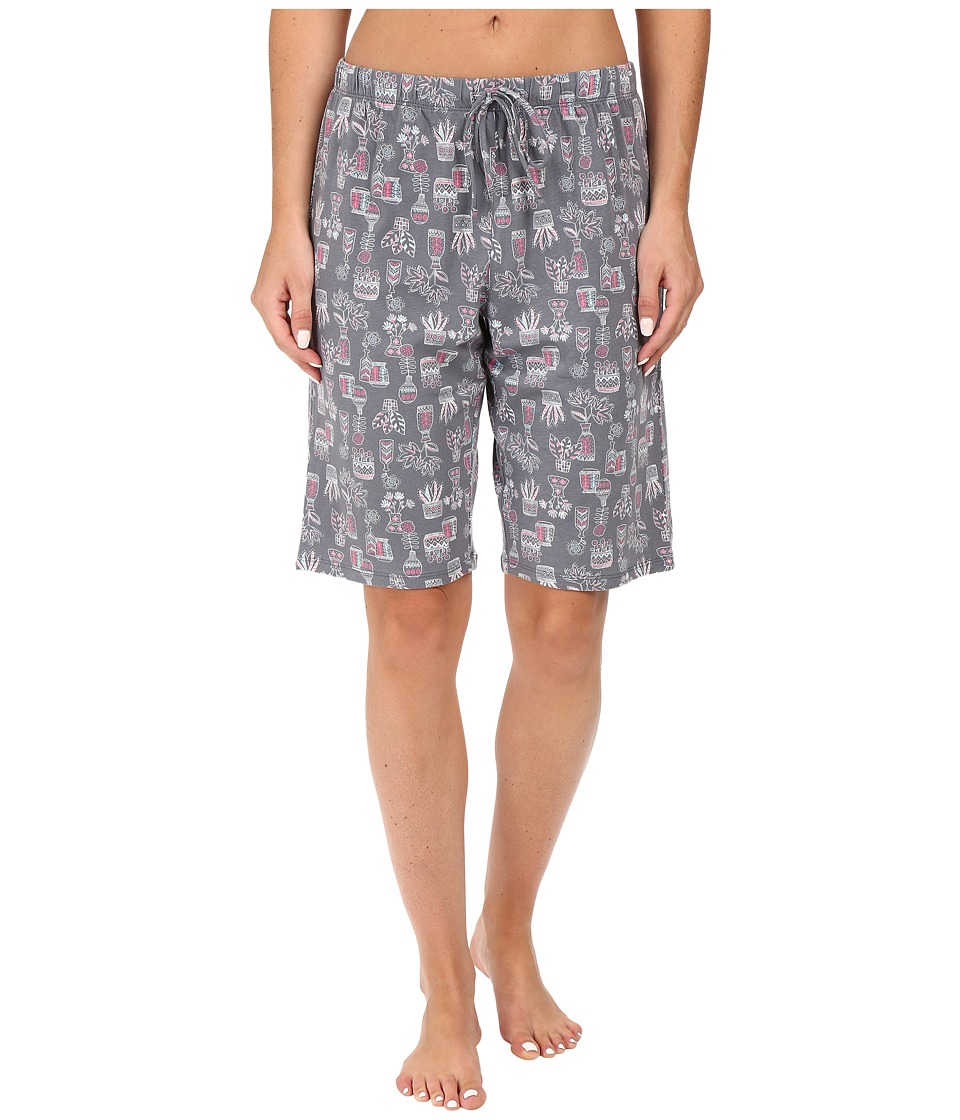 Jockey - Novelty Bermuda (Plants/Vases) Women's Pajama