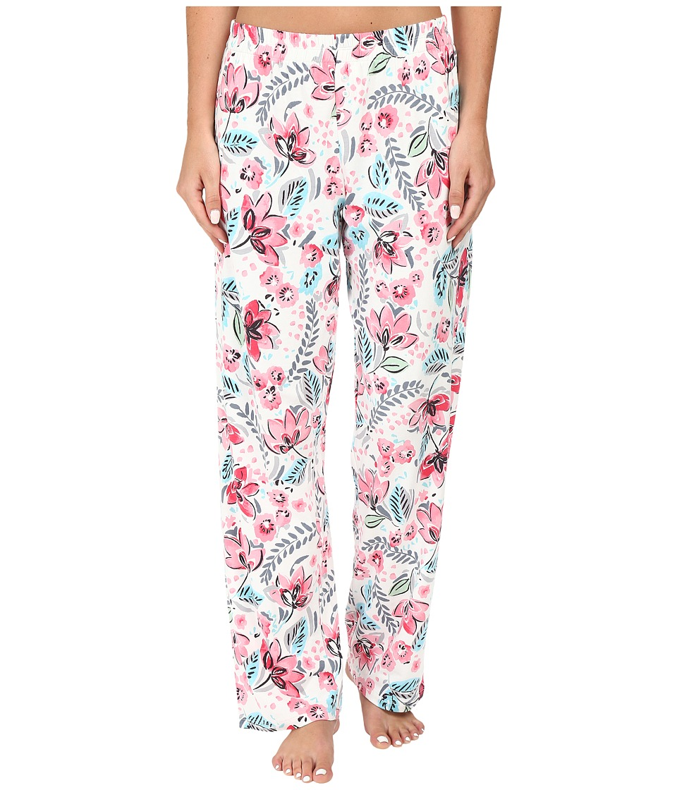 Jockey - Printed Long Pants (Autumn Garden) Women's Pajama
