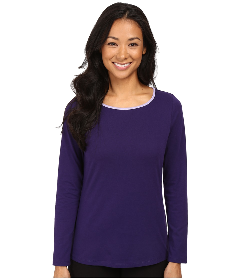 Jockey - Long Sleeve Top (Petunia) Women's Pajama