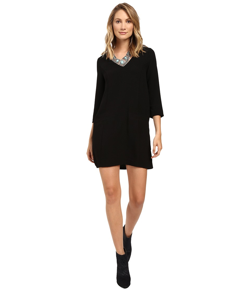 Jack by BB Dakota - Andra Dress (Black) Women's Dress