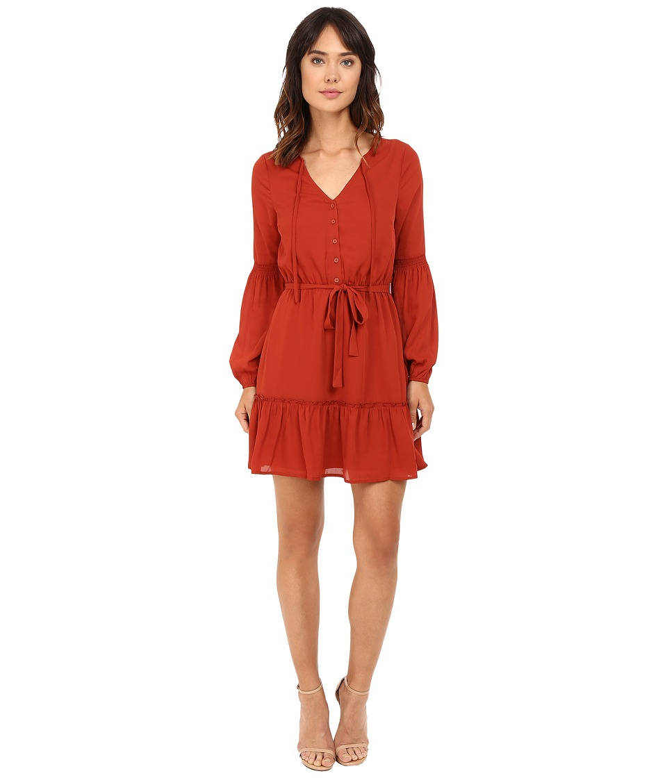 Jack by BB Dakota - Mayella Dress (Rust) Women's Dress