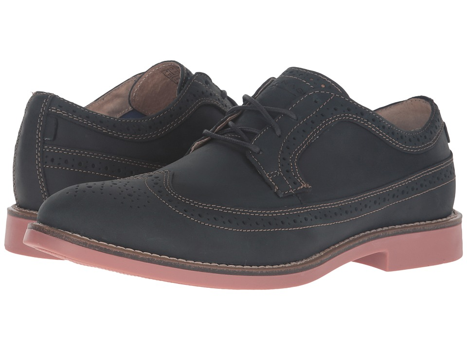 Mark Nason - Foxhill (Navy Leather/Tan Welt/Brick Bottom) Men's Lace up casual Shoes