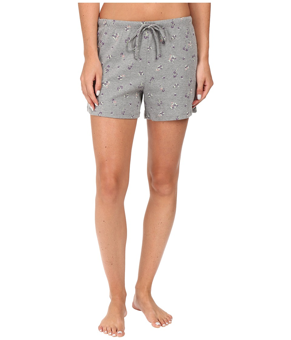 Jockey - Printed Boxer (Ditsy On Heather Grey) Women's Pajama
