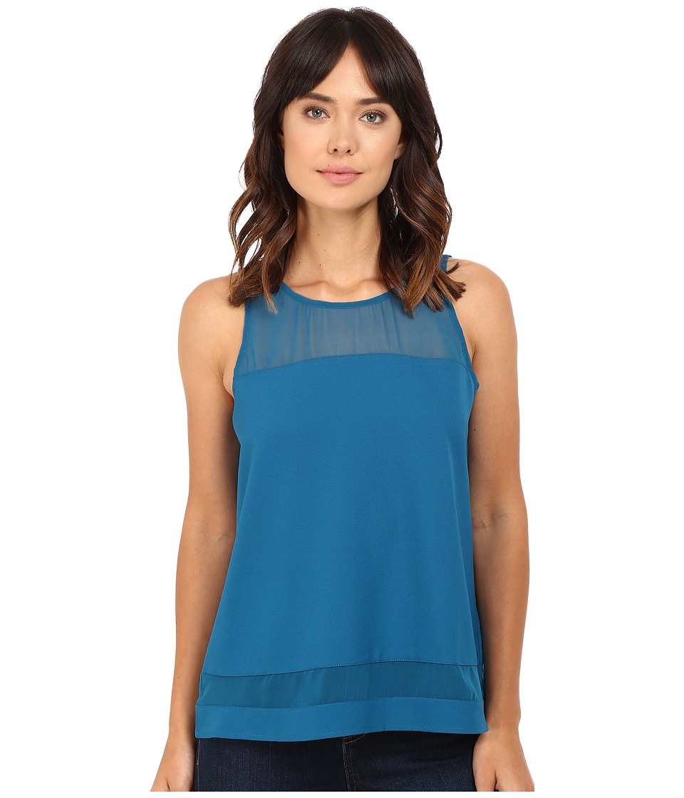Jack by BB Dakota - Cho Top (Peacock Blue) Women's Clothing