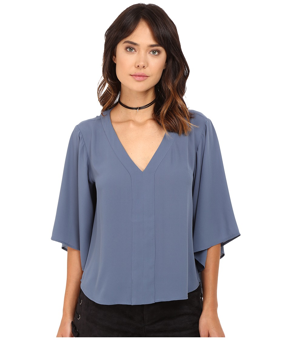 Jack by BB Dakota - Sirius Top (Vintage Indigo) Women's Clothing