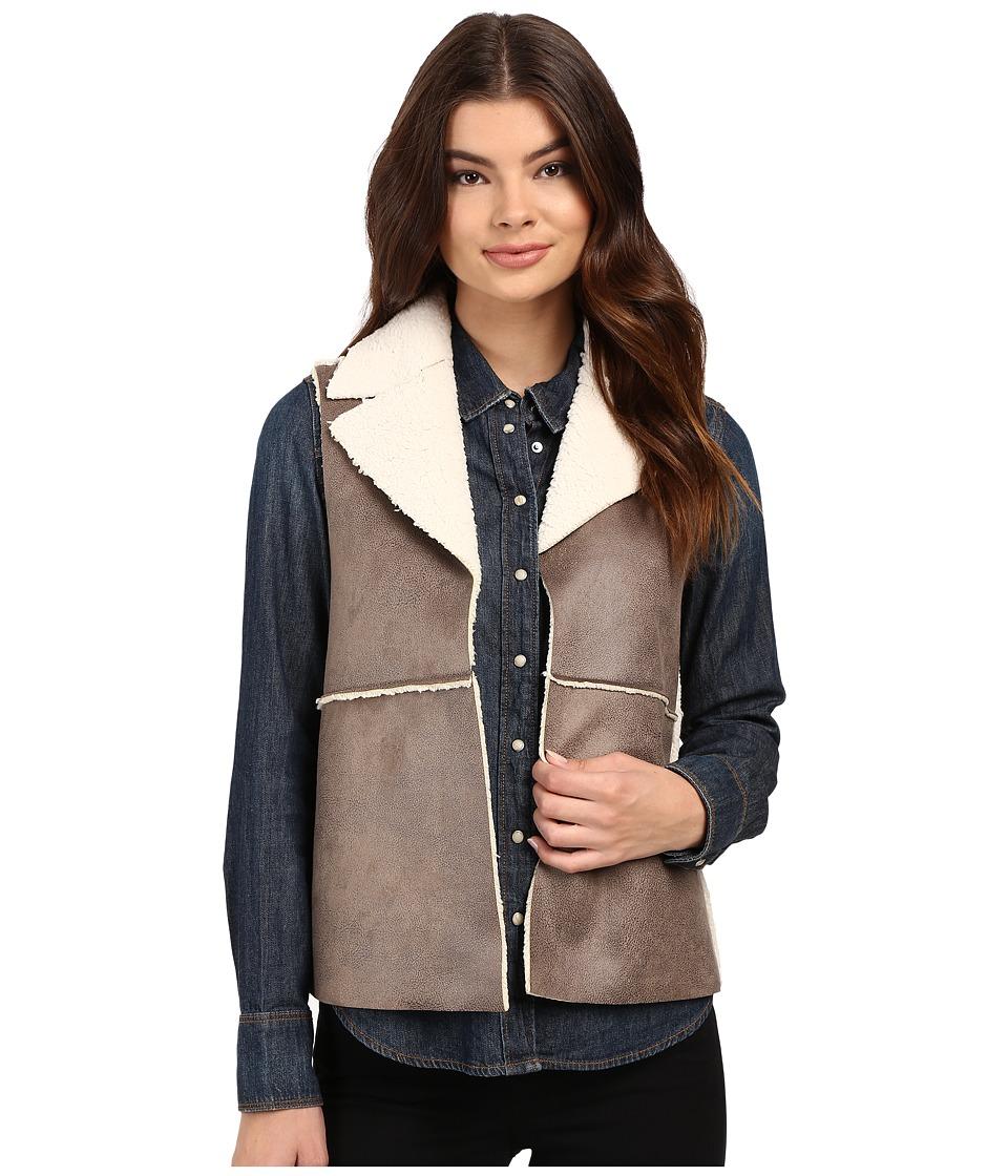 Jack by BB Dakota - Delphine Vest (Dark Taupe) Women's Vest