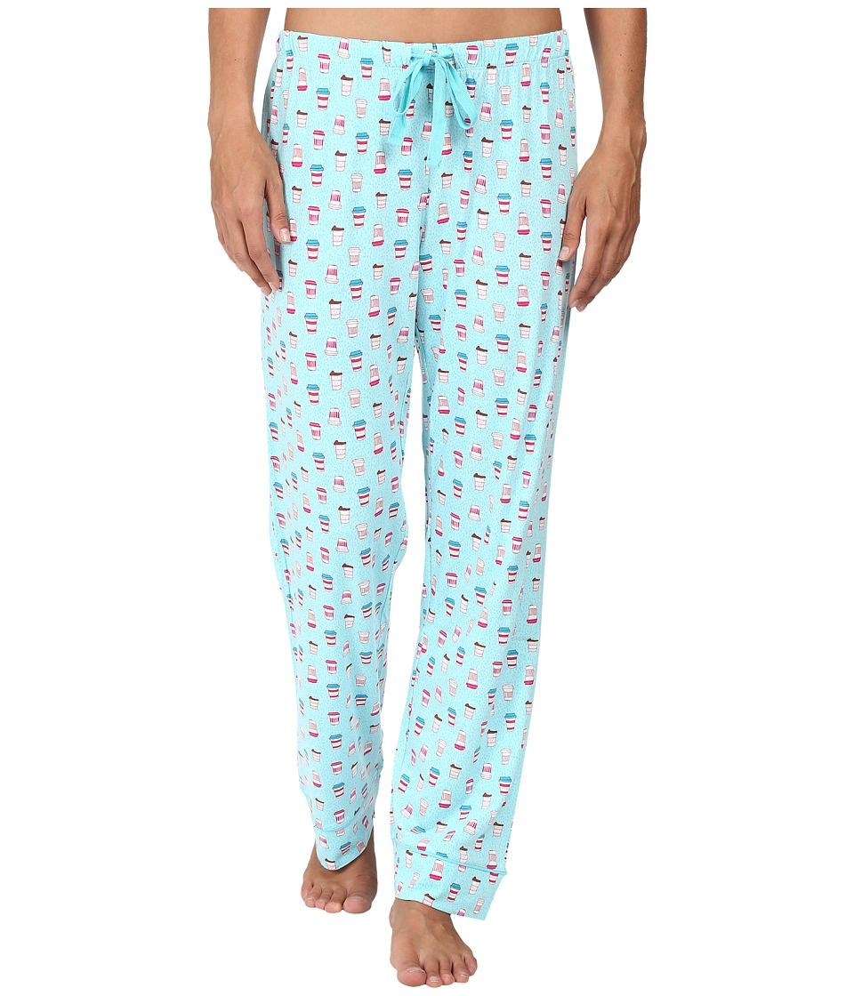 Jockey - Printed Coffee Cup Long Pants (Coffee To Go) Women's Pajama