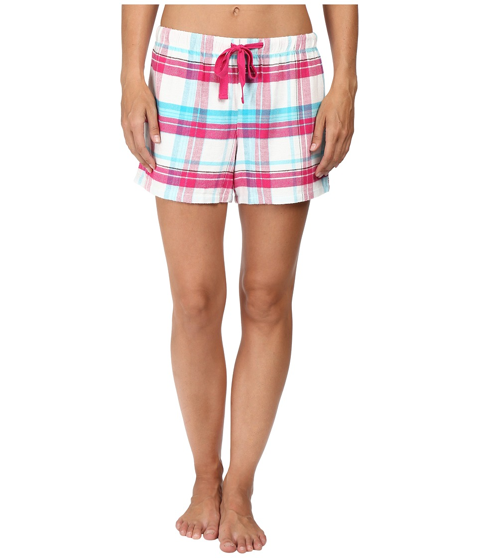 Jockey - Flannel Boxer (Malted Plaid) Women's Pajama