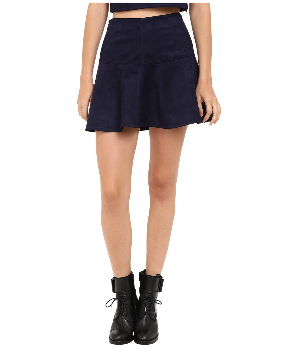 Jack by BB Dakota Abrams Skirt (Night Sky Navy) Women