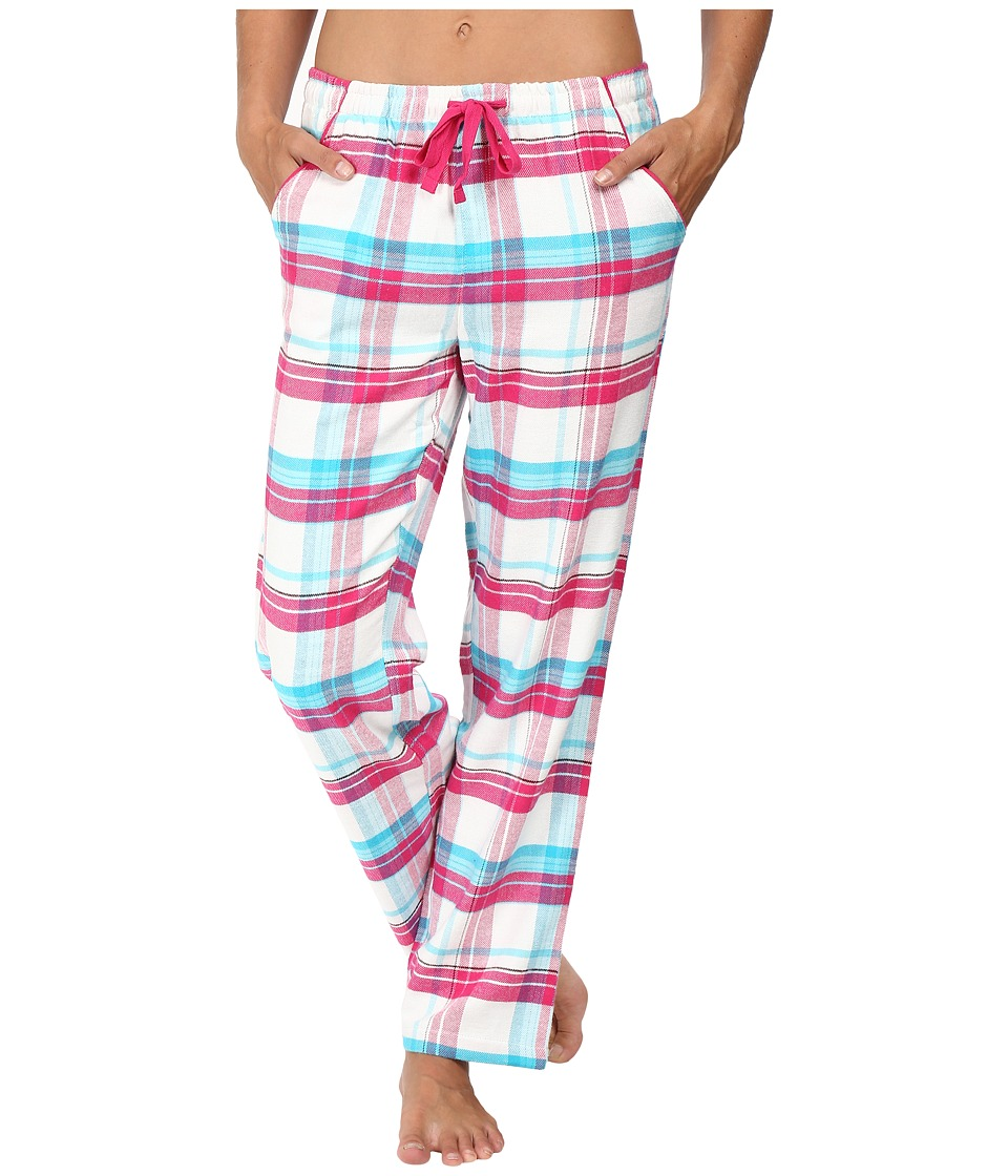 Jockey - Flannel Long Pants (Malted Plaid) Women's Pajama