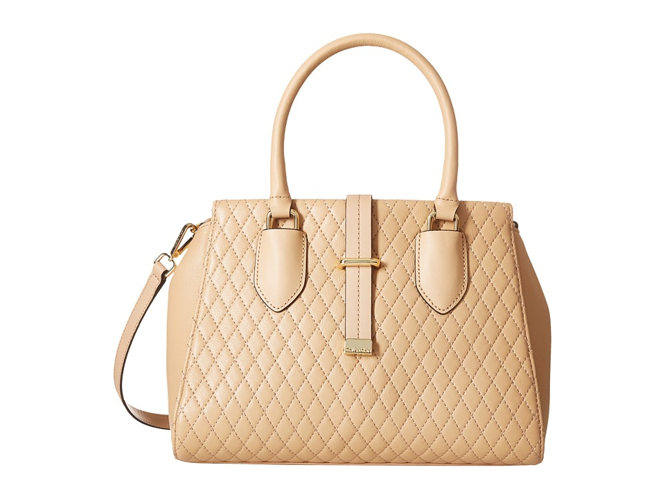 Calvin Klein - Pebble Satchel (Nude) Satchel Handbags