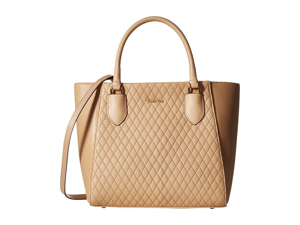 Calvin Klein - Pebble Shopper (Nude) Tote Handbags