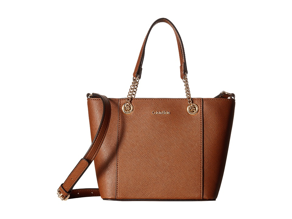 Calvin Klein - Saffiano Mini Bag (Luggage) Handbags