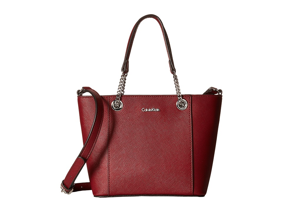 Calvin Klein - Saffiano Mini Bag (Valentine) Handbags