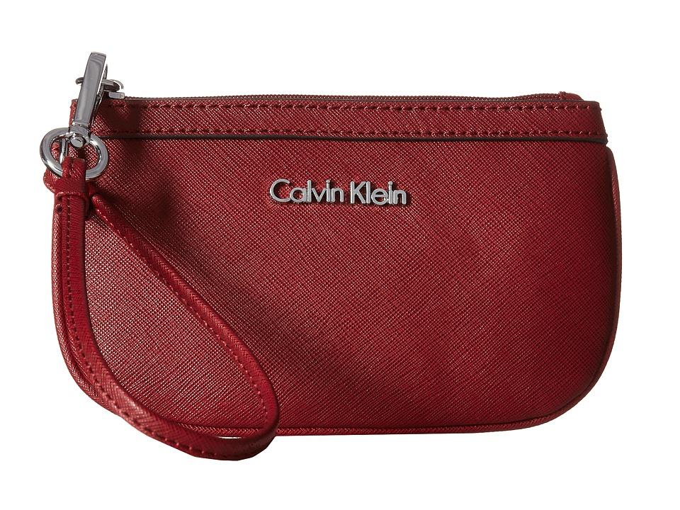 Calvin Klein - Saffiano Wristlet (Valentine) Wristlet Handbags