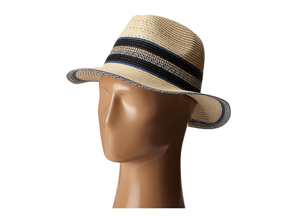 Steve Madden - Panama Hat (Denim) Traditional Hats