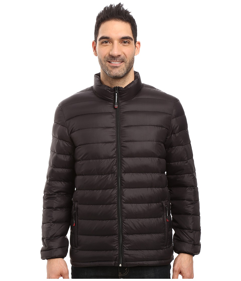 Roper - Crush and Down Parka Jacket (Black) Men's Coat