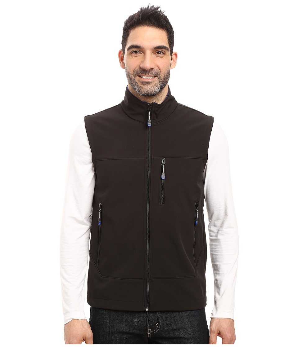 Roper - Softshell Vest (Black) Men's Vest