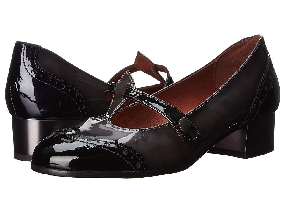 Hispanitas - Sharlot (Taipei Black/Taipei Grafito/Taipei Blue) Women's Shoes