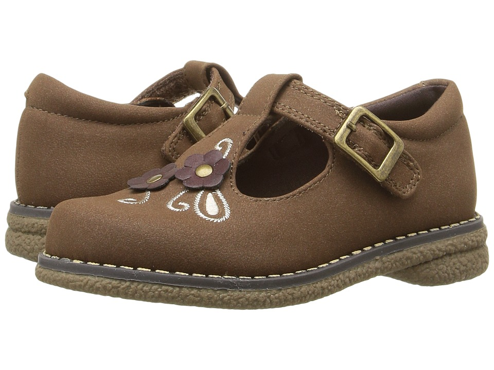 Rachel Kids - Sharon (Toddler/Little Kid) (Tan Smooth) Girls Shoes
