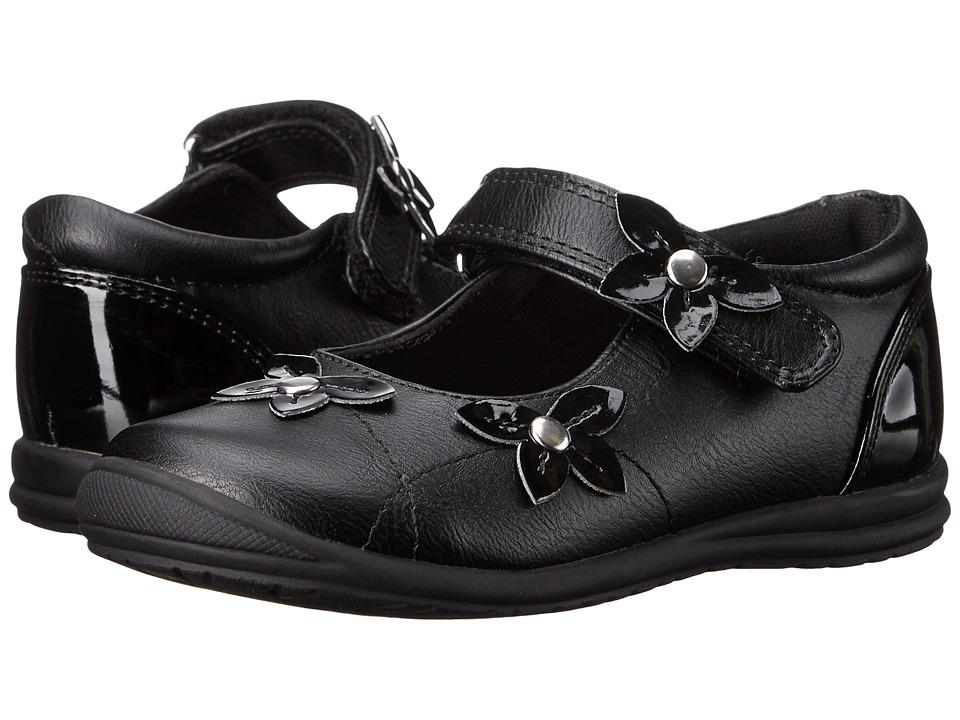 Rachel Kids - Alita (Toddler/Little Kid) (Black Smooth) Girls Shoes