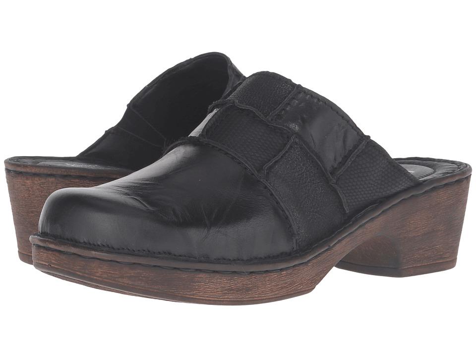 Josef Seibel - Rebecca 33 (Black/Kombi) Women's Clog/Mule Shoes