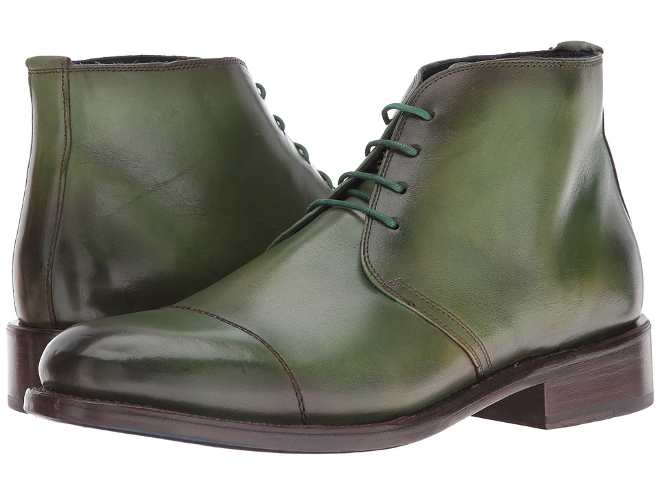 Messico - Italo Welt (Burnished Green) Men's Shoes