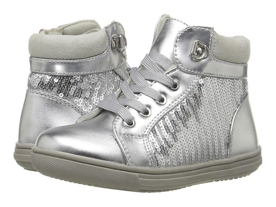 Rachel Kids - Sabrina (Toddler/Little Kid) (Silver) Girls Shoes