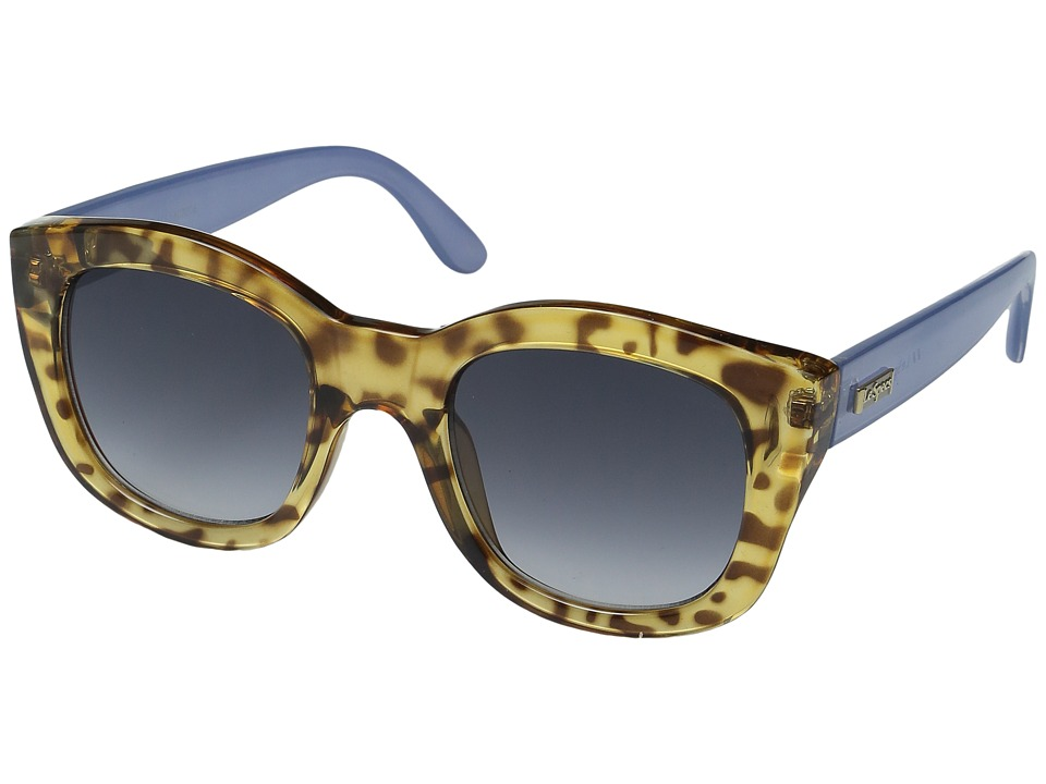 Le Specs - Runaways (Leopard Tortoise/Chambray) Fashion Sunglasses