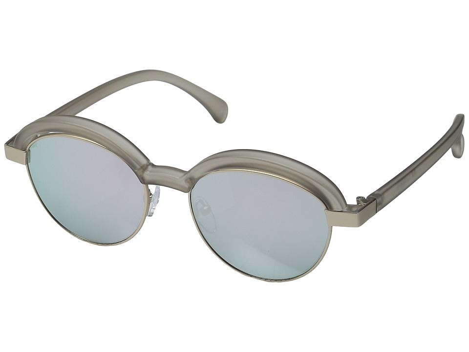 Le Specs - Slid Lids (Matte Stone/Gold) Fashion Sunglasses