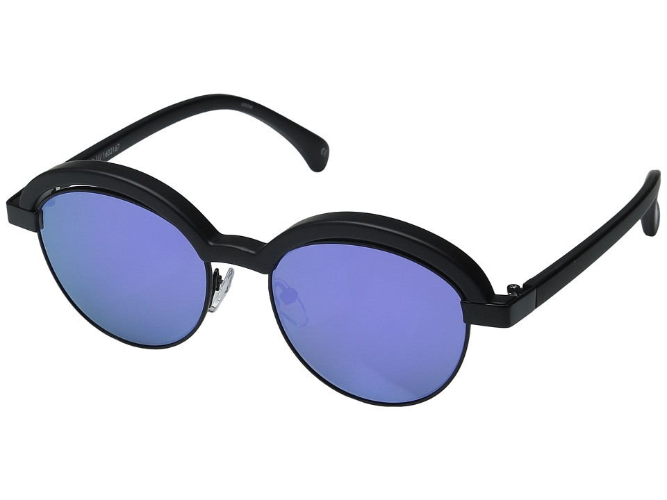 Le Specs - Slid Lids (Crystal Grape/Black) Fashion Sunglasses