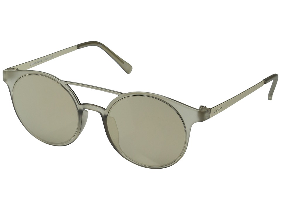Le Specs - Demo Mode (Matte Stone/Gold) Fashion Sunglasses