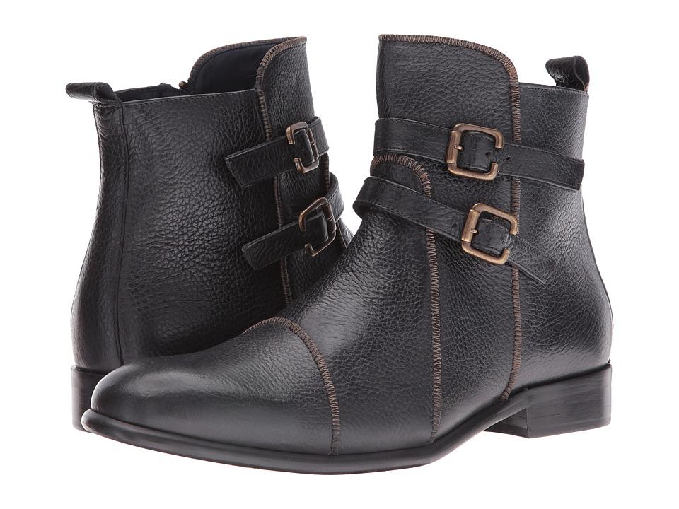 Messico - Leslie (Black Leather) Men's Shoes