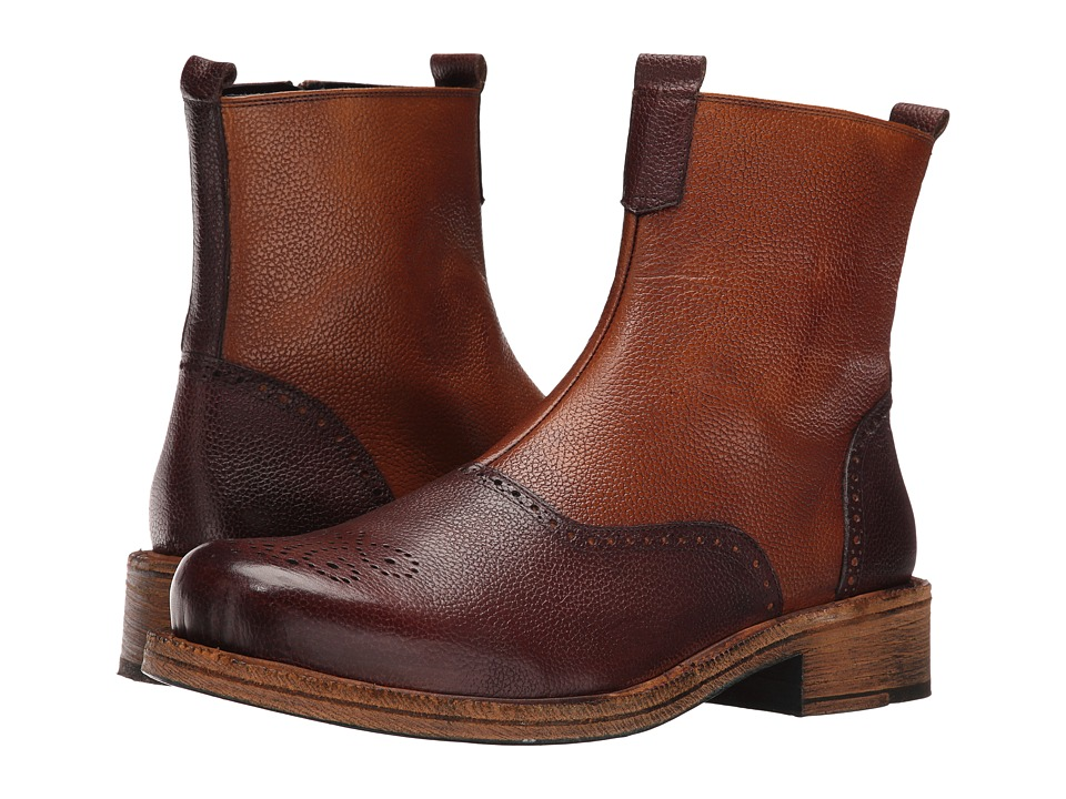 Messico - Macario Welt (Brown/Burnished Honey) Men's Shoes