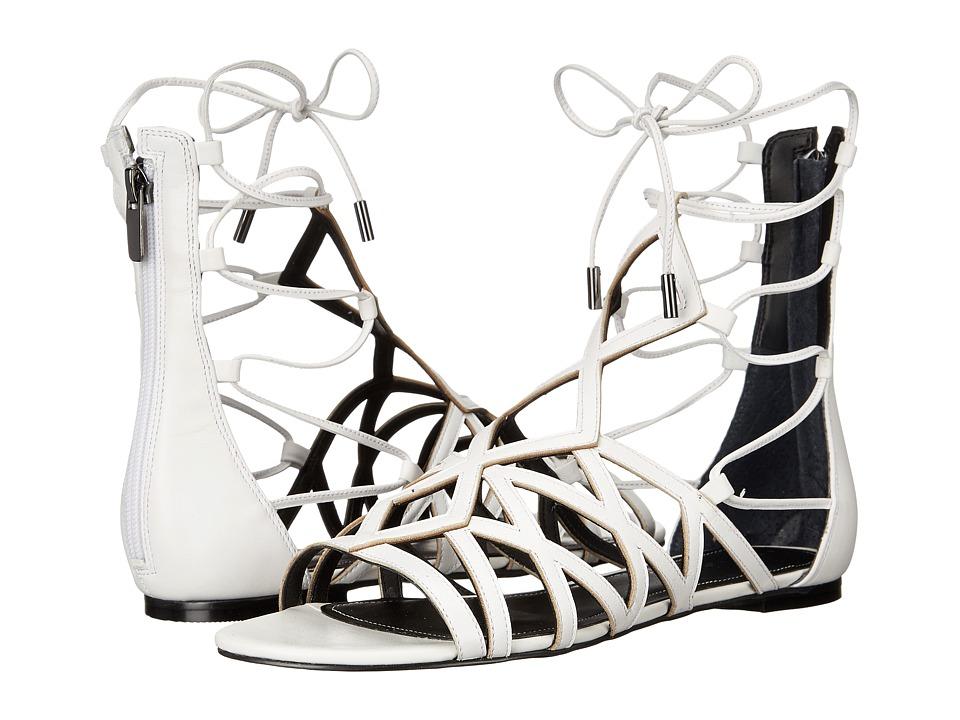KENDALL + KYLIE - Cody (White Premier Nappa) Women's Sandals