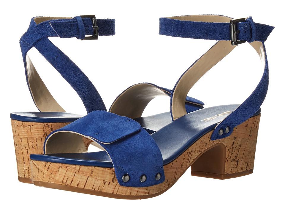 Nine West - Fiaz (Dark Blue Suede) High Heels