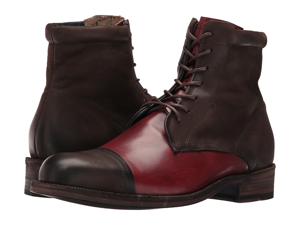 Messico - Chantal (Brown/Burnished Burgundy) Men's Shoes