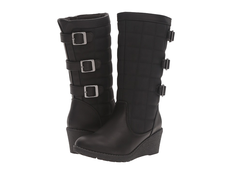 Rachel Kids - Northwest (Little Kid/Big Kid) (Black Smooth) Girls Shoes