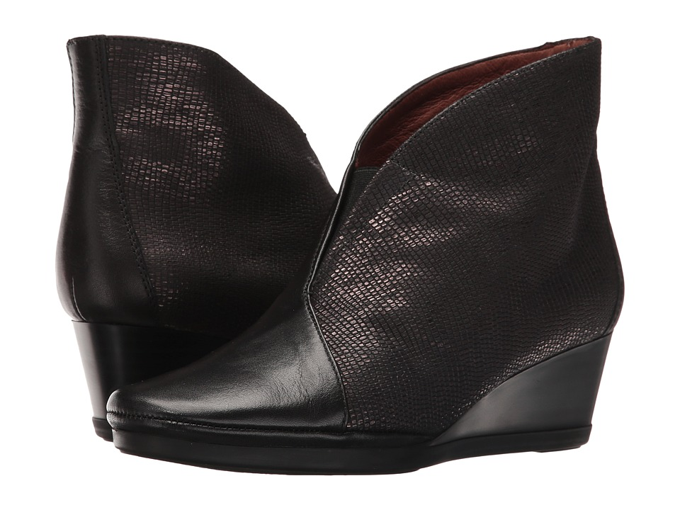 Hispanitas - Venecia (Soho Black/Tejus Black) Women's Shoes