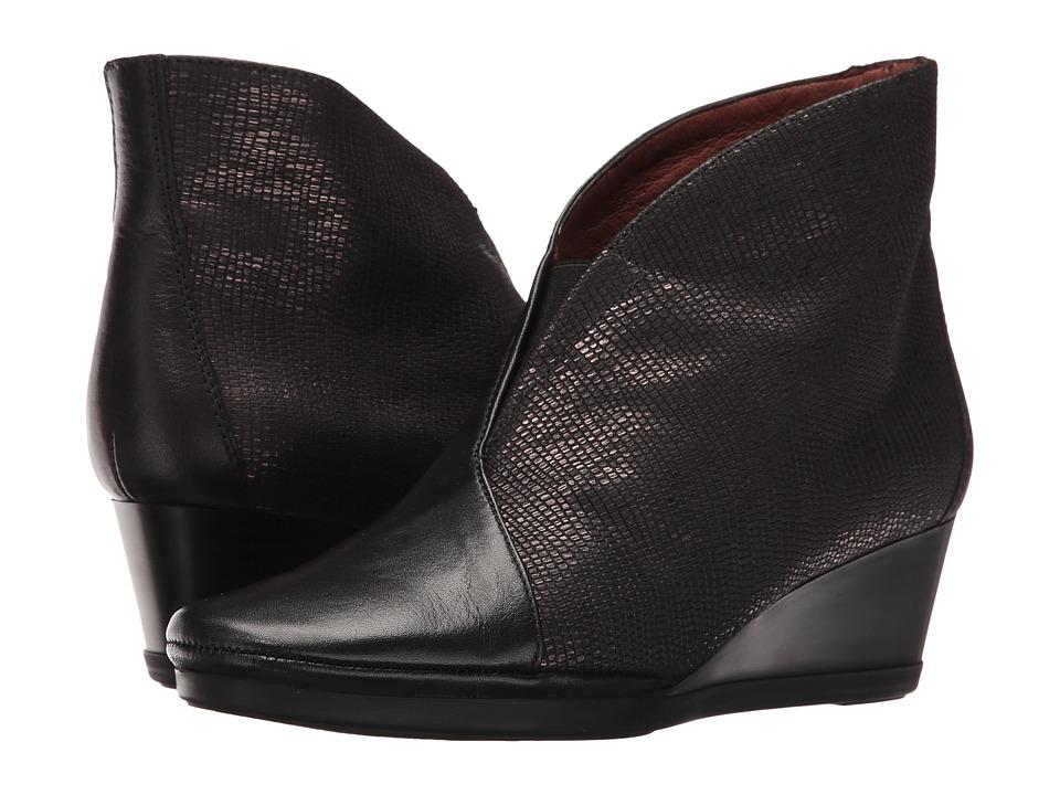 Hispanitas - Venecia (Soho Black/Tejus Black) Women's Shoes