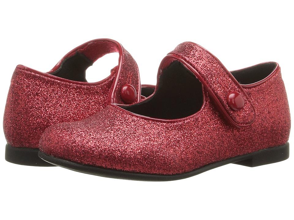 Rachel Kids - Lil Halle (Toddler) (Black Glitter) Girls Shoes