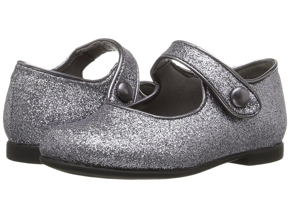Rachel Kids - Lil Halle (Toddler) (Pewter Glitter) Girls Shoes