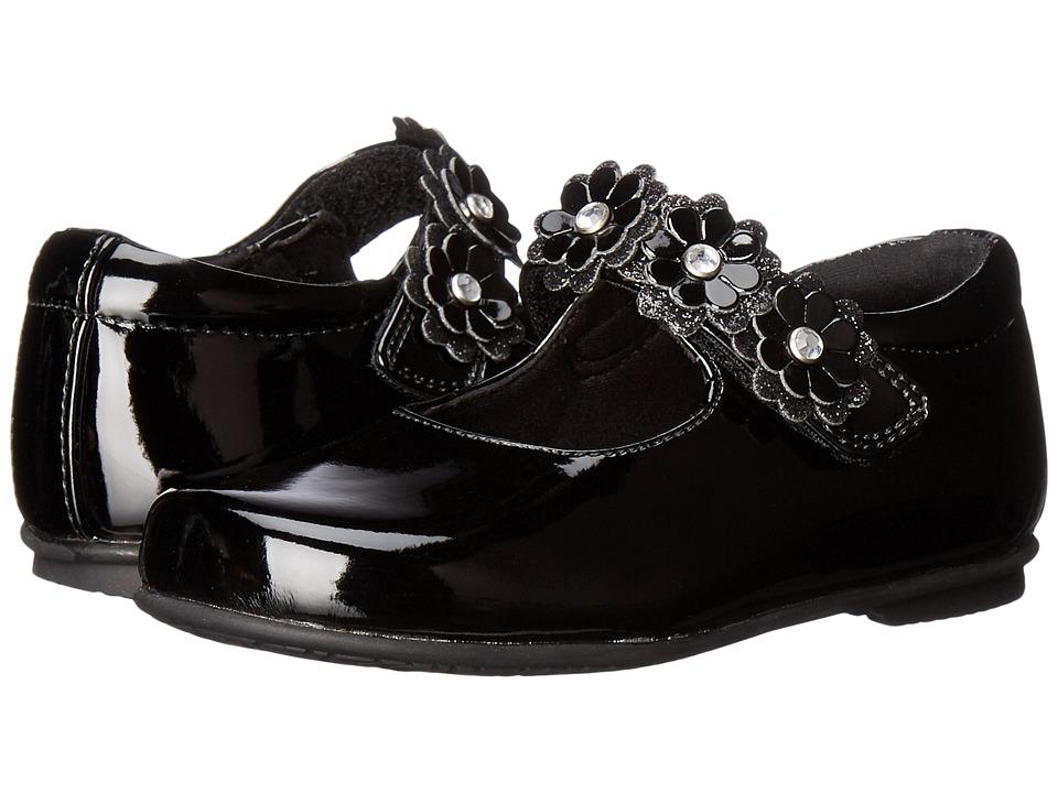 Rachel Kids - Lyla (Toddler/Little Kid) (Black Patent) Girls Shoes