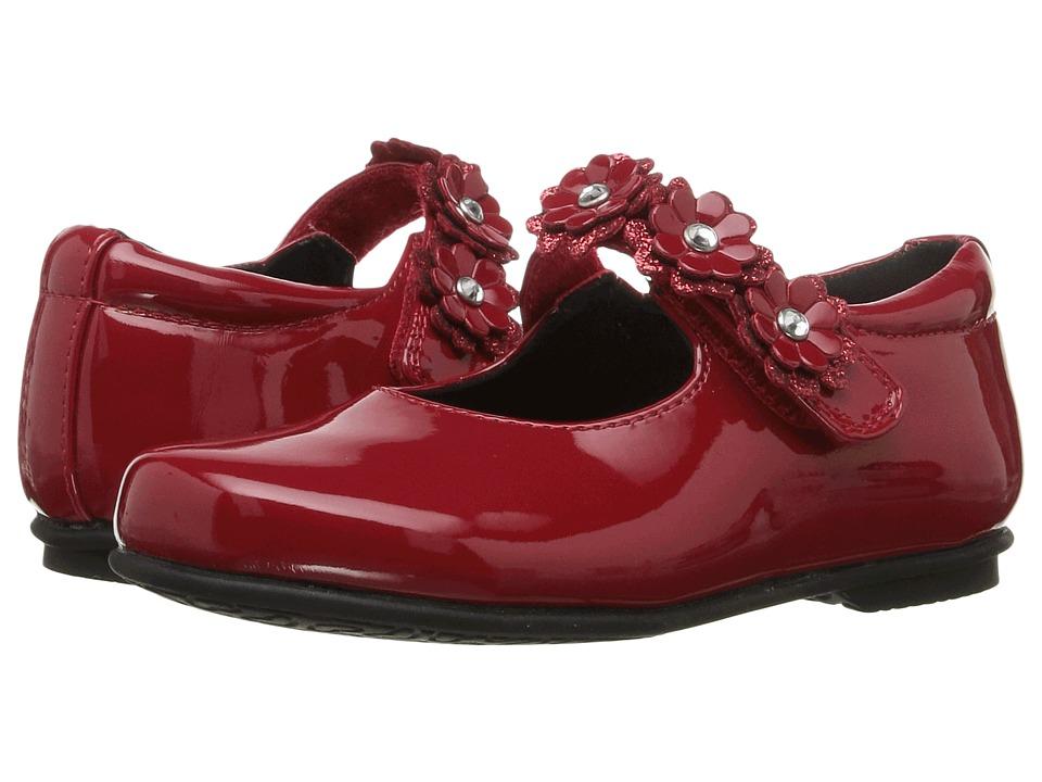 Rachel Kids - Lyla (Toddler/Little Kid) (Red Patent) Girls Shoes