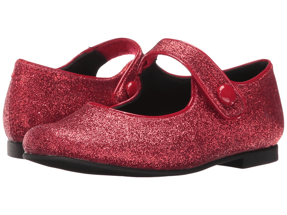 Rachel Kids - Halle (Little Kid) (Red Glitter) Girls Shoes