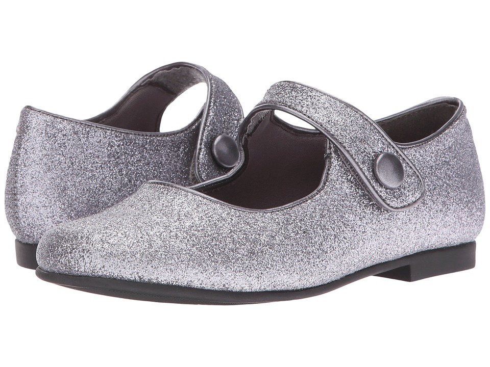 Rachel Kids - Halle (Little Kid) (Pewter Glitter) Girls Shoes