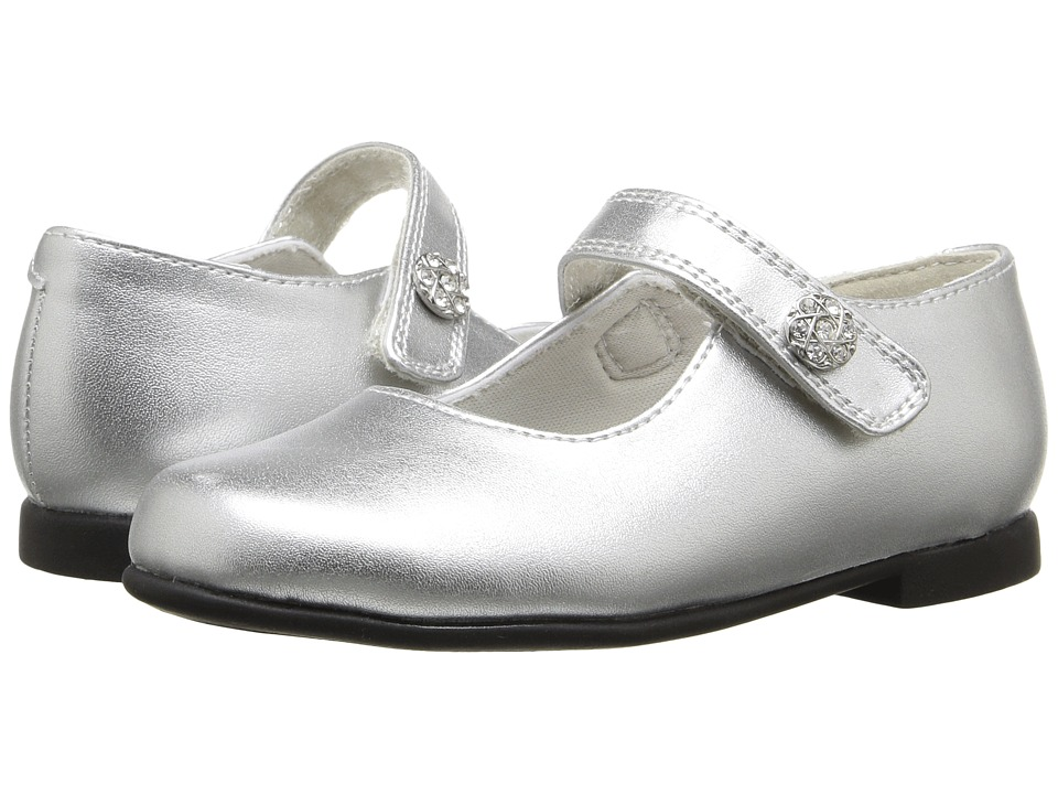 Rachel Kids - Lil Jackie (Toddler) (Silver Metallic) Girls Shoes