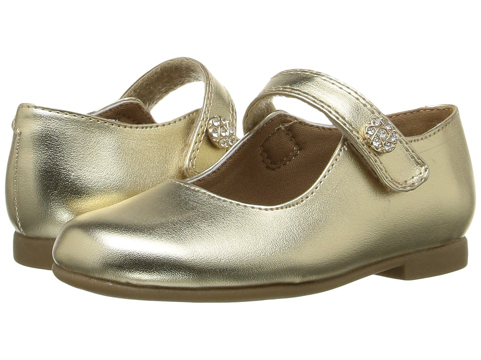 Rachel Kids - Lil Jackie (Toddler) (Gold Metallic) Girls Shoes